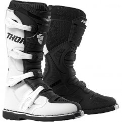 THOR Blitz XP Boots 19 - white/black