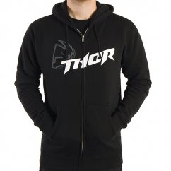THOR Fusion Zip-Up Hoody Youth - black