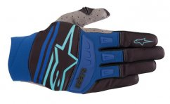 ALPINESTARS Techstar Glove 19 - black/turquoise/blue