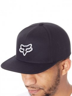 FOX Legacy Snapback Hat - black