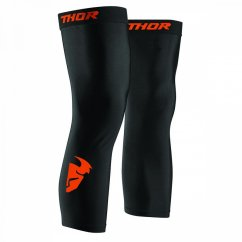 THOR Comp Knee Sleeve - black/red/orange