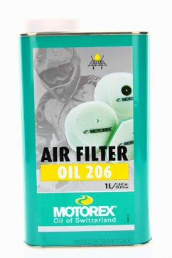 MOTOREX Air Filter Oil 206 - 1L