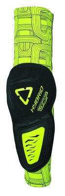 LEATT 3DF Hybrid Elbow Guard - black/lime
