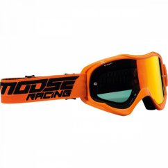 MOOSE RACING Qualifier Shade Goggles - orange/smoke