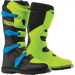 THOR Blitz XP Boots 19 - flo acid/black