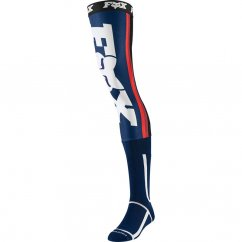 FOX Linc Knee Brace Ponožky - navy/red