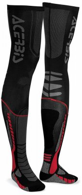 ACERBIS X-Leg Pro Sock - black/red