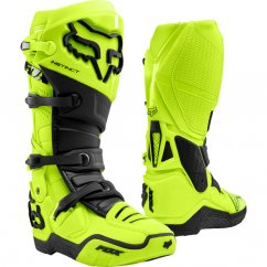FOX Instinct boty MX20 - flo yellow