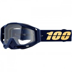 100% Racecraft Bakken brýle - clear lens