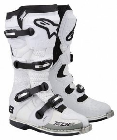 Alpinestars TECH 8 RS - white