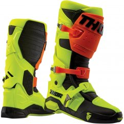 THOR Radial MX Boty 19 - flo orange/flo yellow