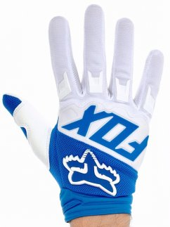 FOX Dirtpaw Race Rukavice17 - blue