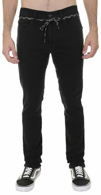 Fox Dagger Slim Pant - black