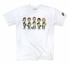 PRO CIRCUIT Caricatures Tee - white