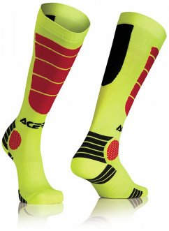 ACERBIS MX Impact Sock - yellow/red