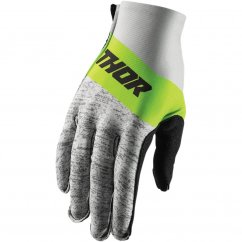 THOR Invert High Tide Glove - gray/lime