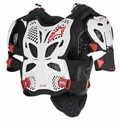 ALPINESTARS A-10 Full Chest Protector - red/black