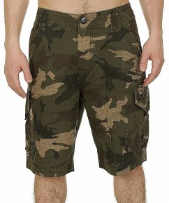 FOX Slambozo Cargo Camo Short - green camo