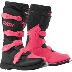 THOR Women´s Blitz XP Boots - black/pink