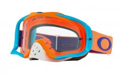 OAKLEY Crowbar Goggle flo orange/blue/clear