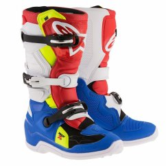 ALPINESTARS Tech 7S Youth Boot - blue/white/red/yellow