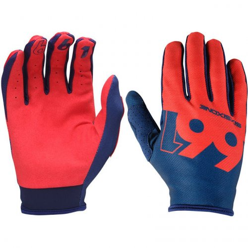 661 Comp Slice rukavice - navy/red - Velikost: XL