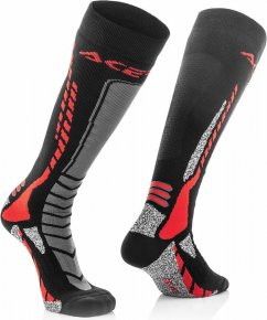 ACERBIS MX Pro Sock - black/red